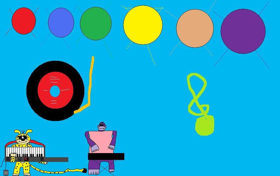 Disney's Marsupilami is jamin' by BuddyBoy600