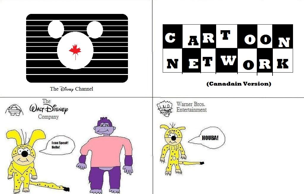 The Disney Channel Canada Vs Cartoon Network By Buddyboy600 On Deviantart