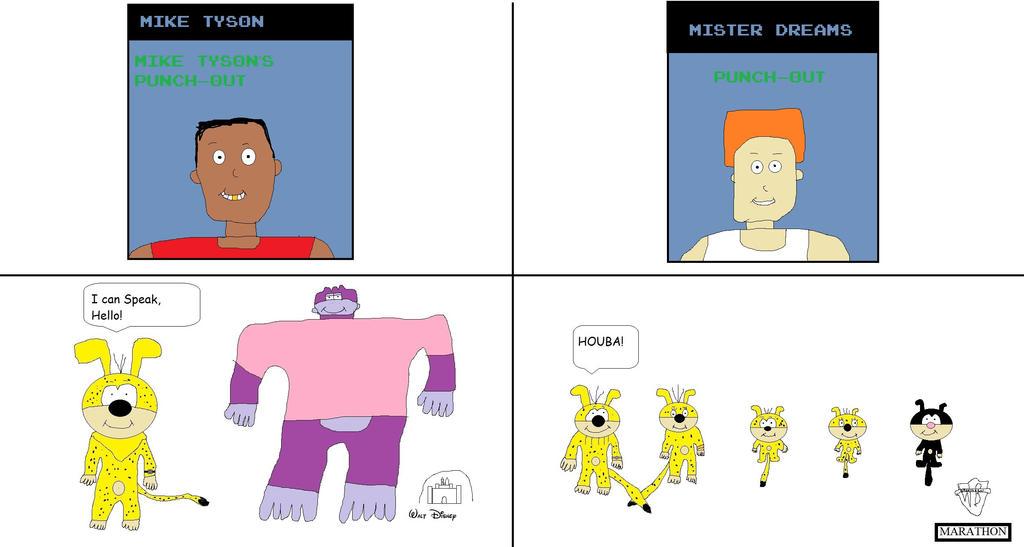 Mike Tyson vs Mister Dreams by BuddyBoy600