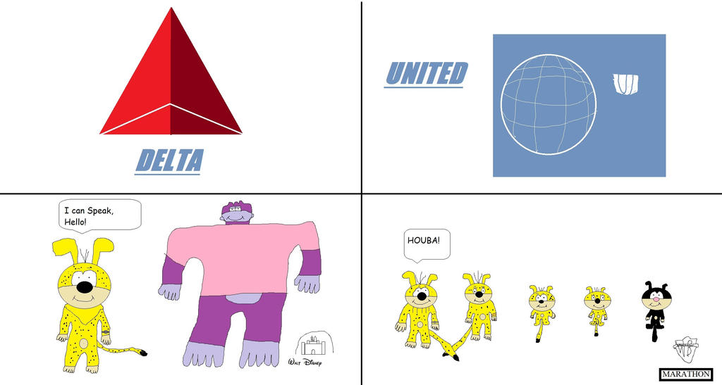 Delta Air Lines vs United Air Lines by BuddyBoy600