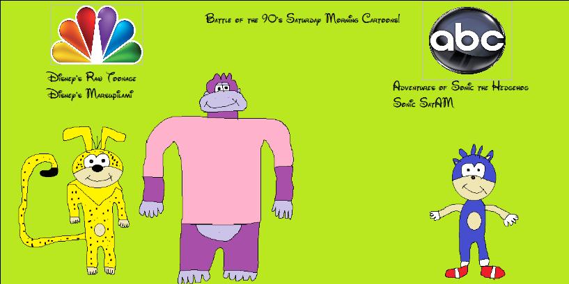 Battle of the 90's Saturday Morning Cartoons by BuddyBoy600