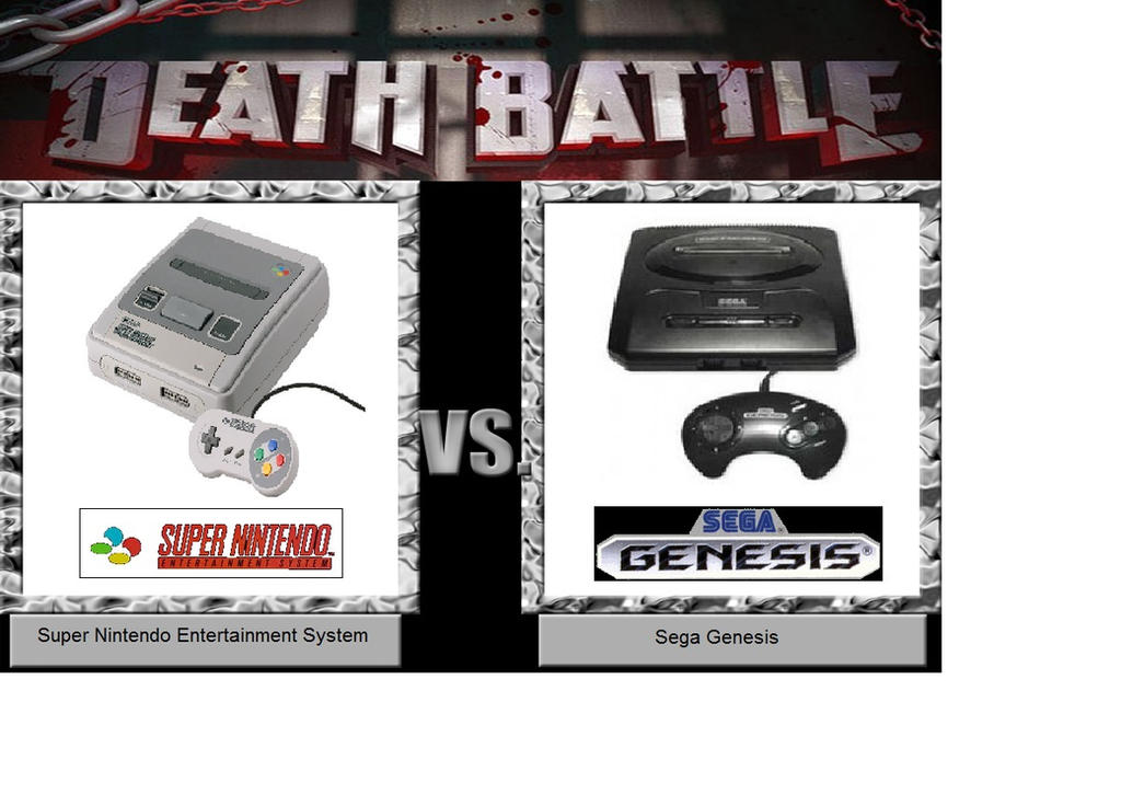 Death battle of the 16-Bit console by BuddyBoy600