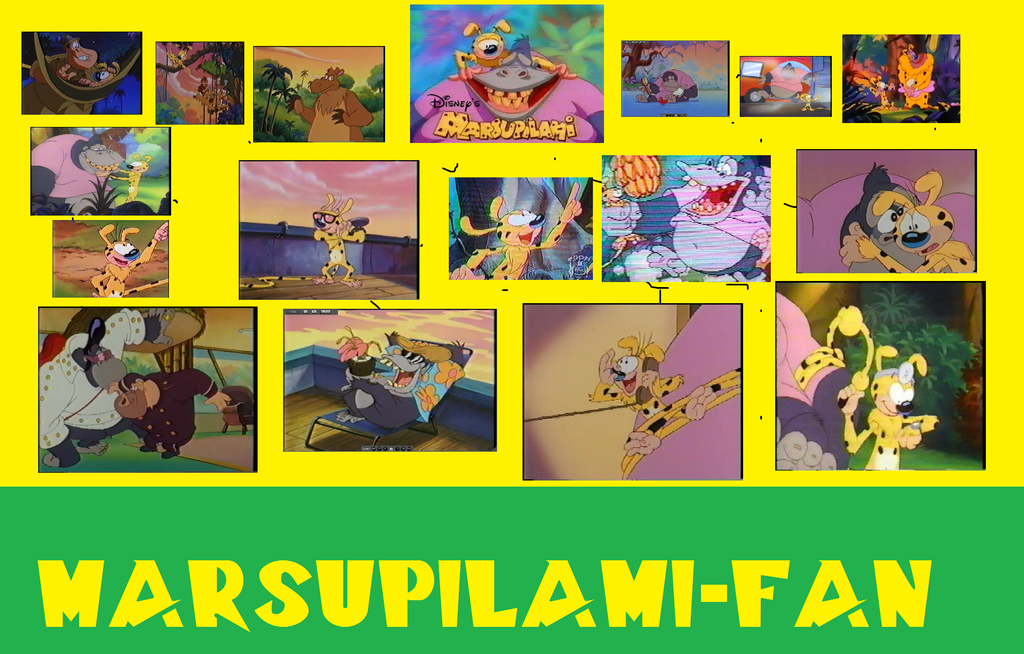 Marsupilami-Fan (Banner) by BuddyBoy600