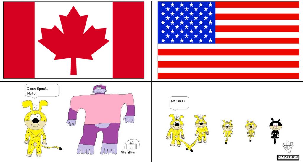 Canada Vs United States Of America By Buddyboy600 On