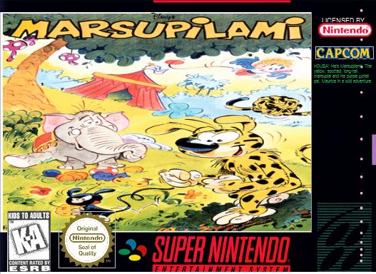 Disney's Marsupilami for SNES