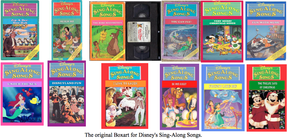 disneys sing along songs 1986 1993 boxart by buddyboy600