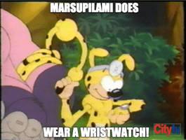 Marsupilami does wear a wristwatch by BuddyBoy600
