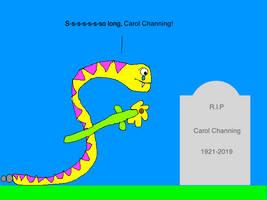 So Long, Carol Channing by BuddyBoy600