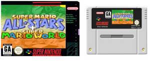 Super Mario All Stars + Super Mario World for SNES