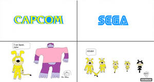 Capcom vs Sega