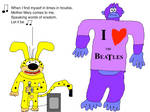 Marsupilami sings Let It Be by The Beatles