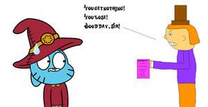 Willy Wonka fires TheCartoonWizard