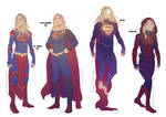 Supergirl Alternate Outfits