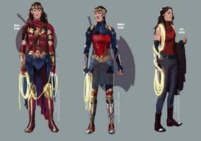Wonder Woman Concepts