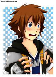 Sora after see DeadFantasyGee by Hallsth-Eien