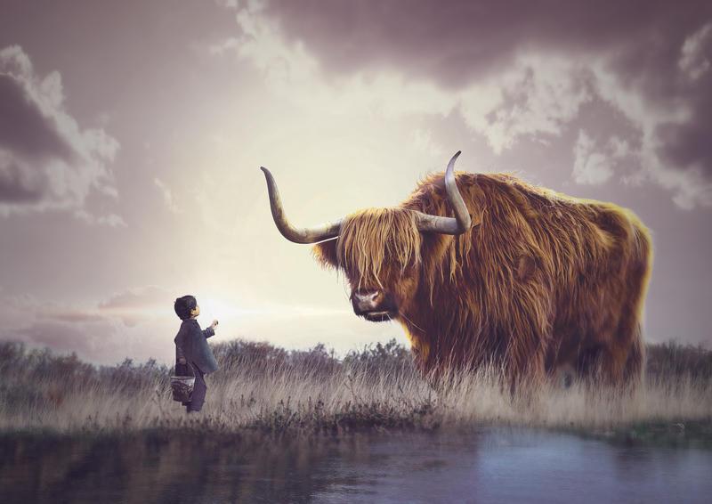Bull 3 rgb by AbiDeviant
