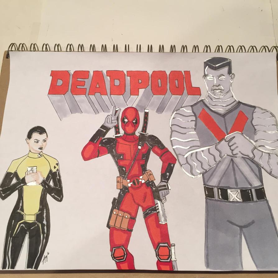 Deadpool by JokerHarley2345