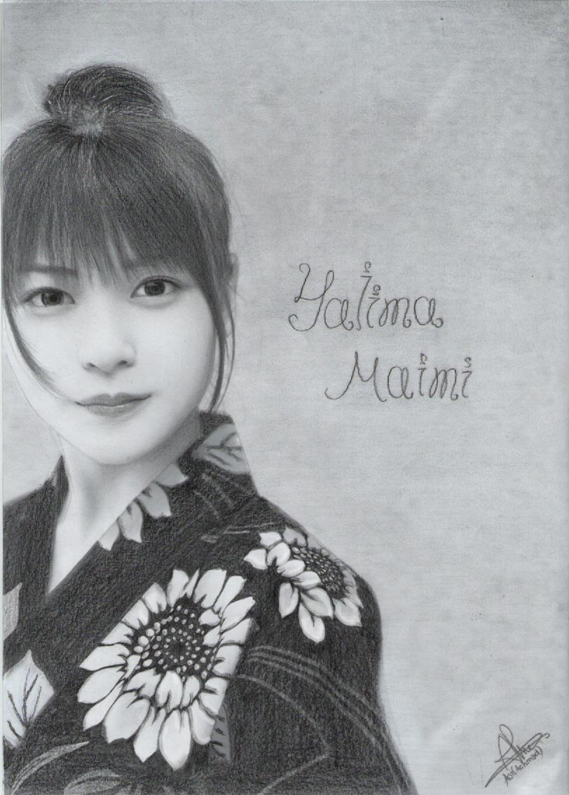 YAjima Maimi by aoisugimoto