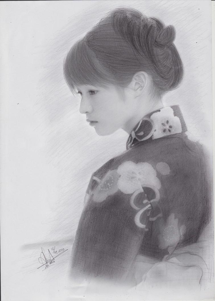 Atsuko Maeda by aoisugimoto