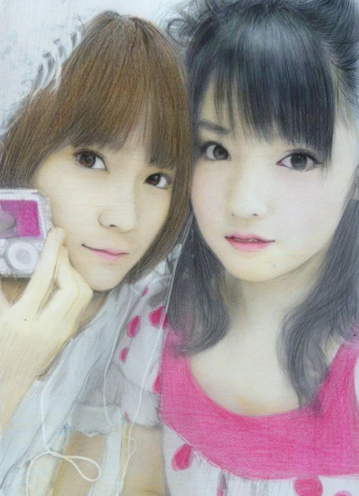 SAYU and ERI by aoisugimoto