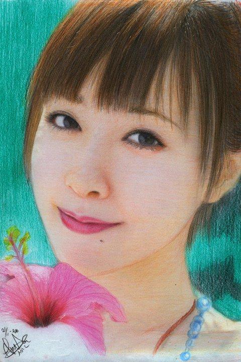 Shimizu Saki by aoisugimoto