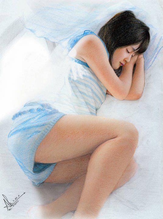 Momoko Tsugunaga (sleep) by aoisugimoto