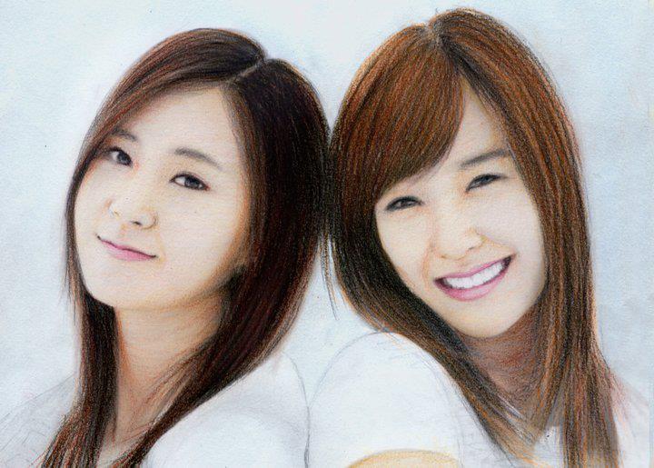 Tiffani and Yoona by aoisugimoto