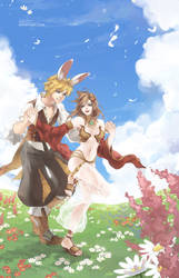 Ragnarok Online - Flower Field by shilin