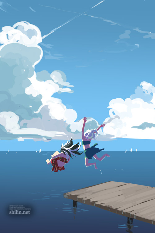 You jump, I jump by shilin