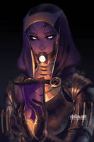 Tali'zorah vas Normandy - rough piece for Patreon