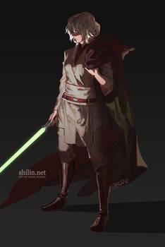 Jedi Veloce - piece for patreon