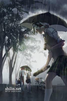 Umbrella - sketch for Patreon