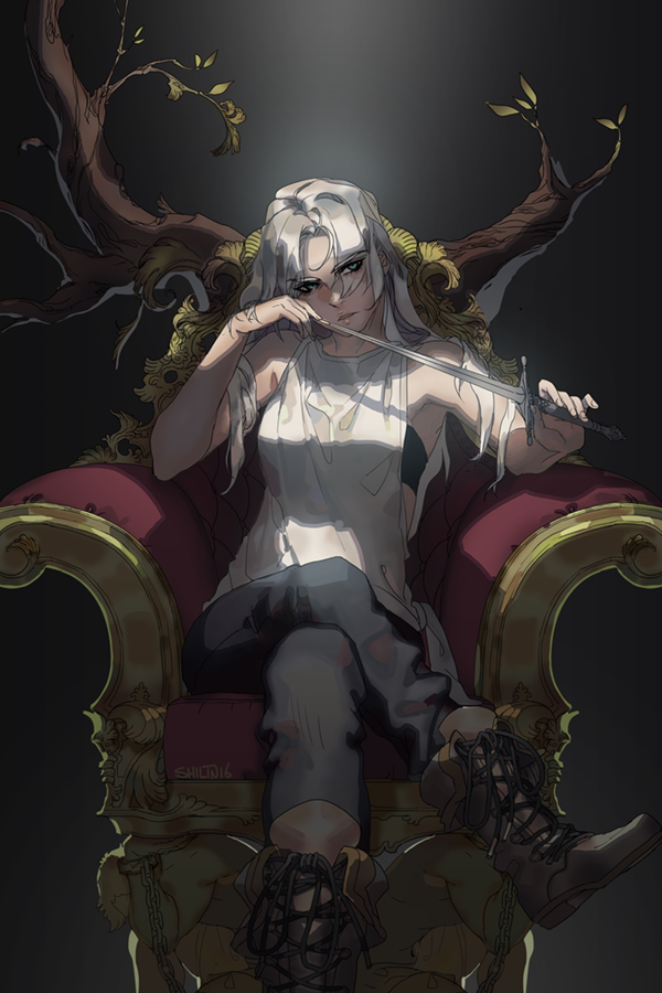 Throne - Piece for patreon