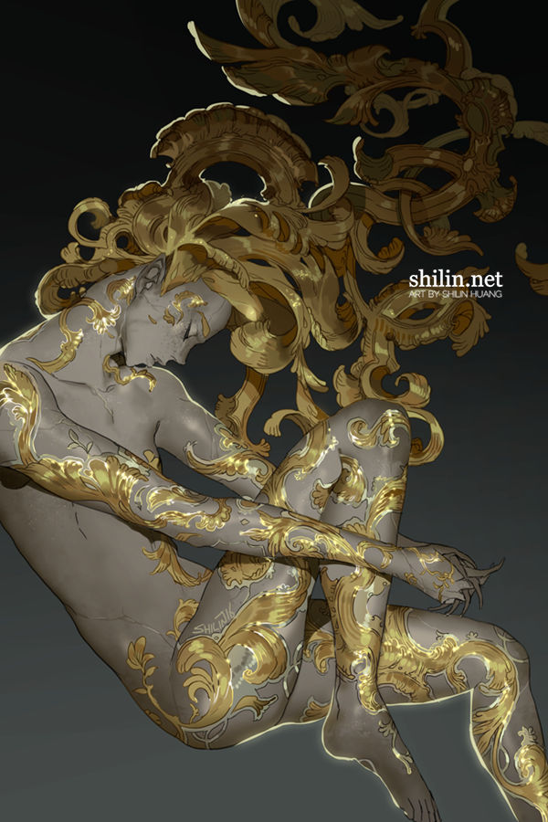 Baroque - quick piece for Patreon
