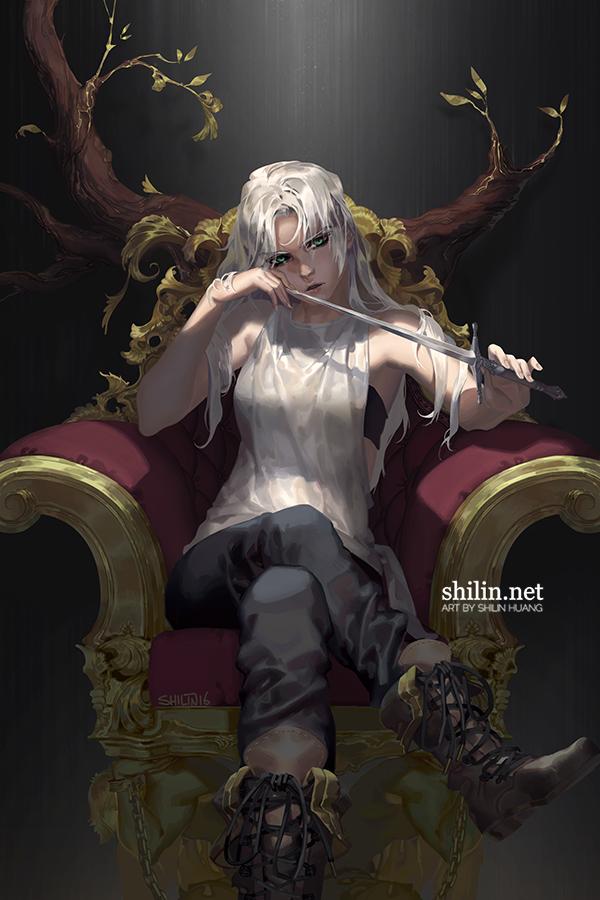 Throne by shilin