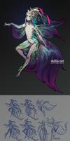 Mermaid - design for patreon