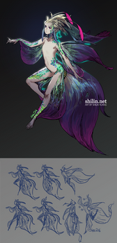 Mermaid - design for patreon