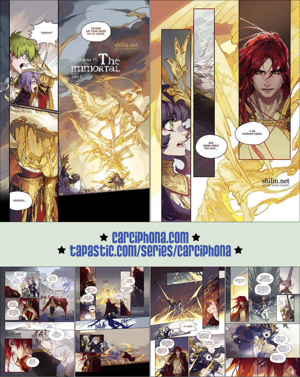 Carciphona book 6 pages 1-6 by shilin on DeviantArt