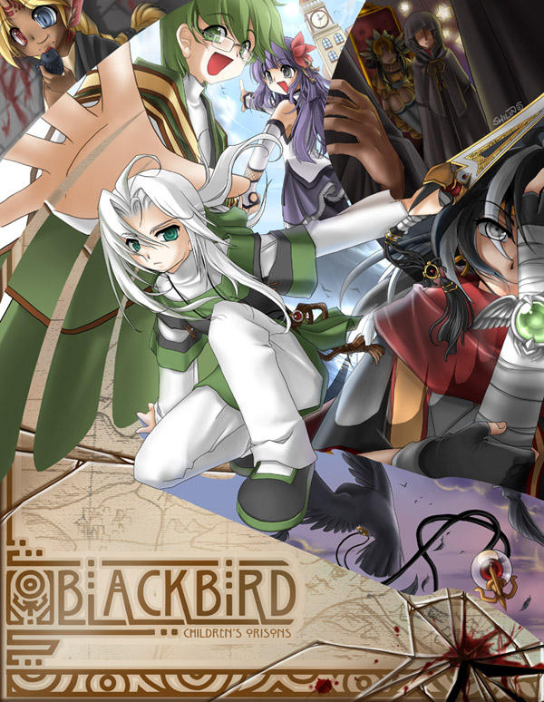 Blackbird - Poster by shilin