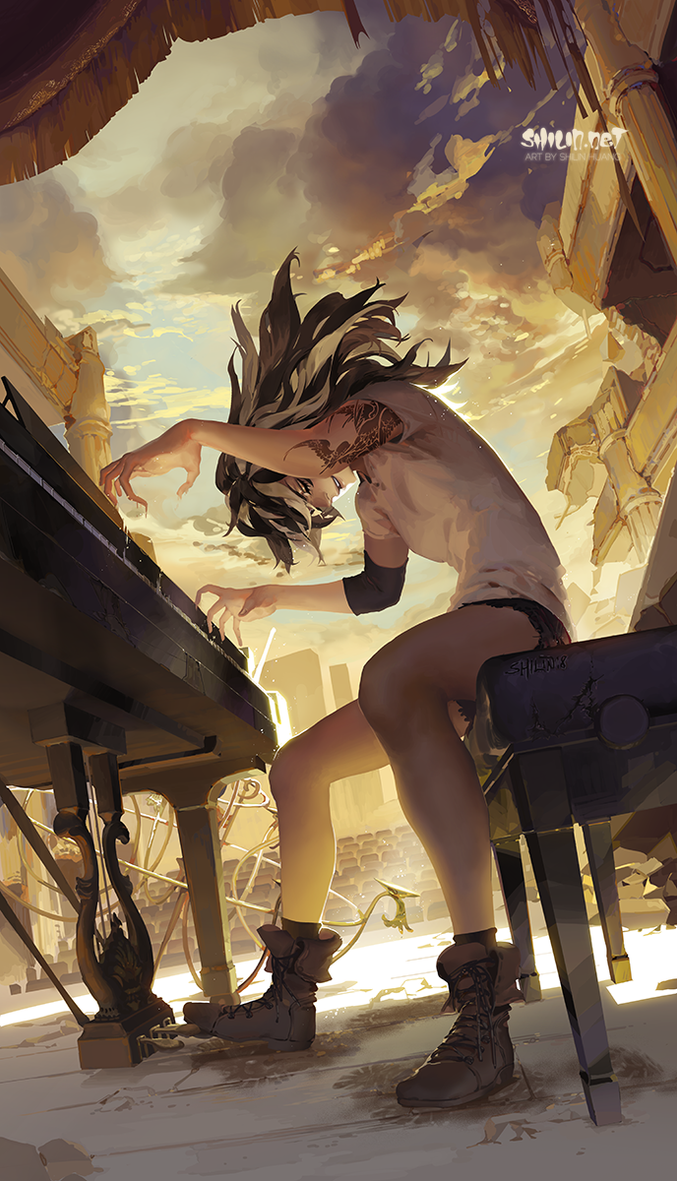 Pianist by shilin