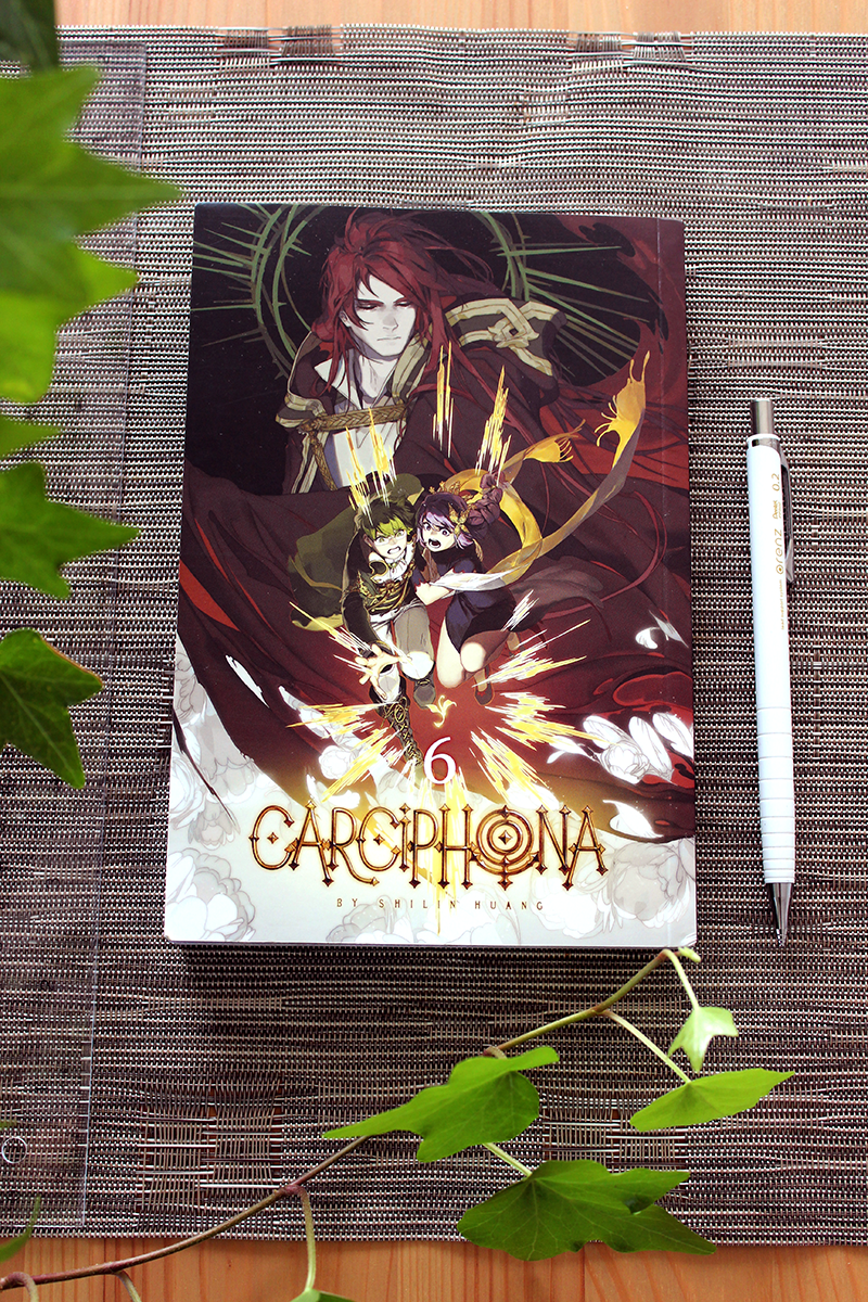 Carciphona book 6 by shilin