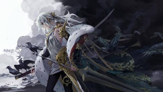 The augur / The queen of swords