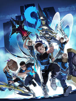 Cloud 9 2019 worlds poster
