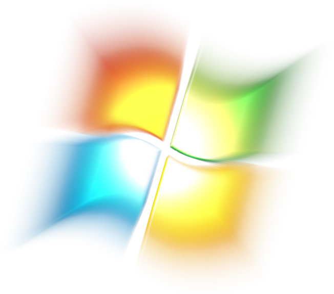 Glowing windows logo by mcbanana on deviantart for Windows logo png