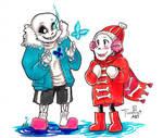 Undertale: Winter magic
