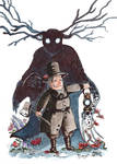 Over the garden wall: Beast and Woodman