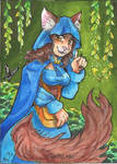 DT: Oracle the cat ACEO