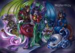 WaterWay - secret audience by TiamatART