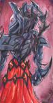 Starcraft II: Alarak bookmark by TiamatART