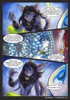 Waterway Afterglow pg. 6. by TiamatART